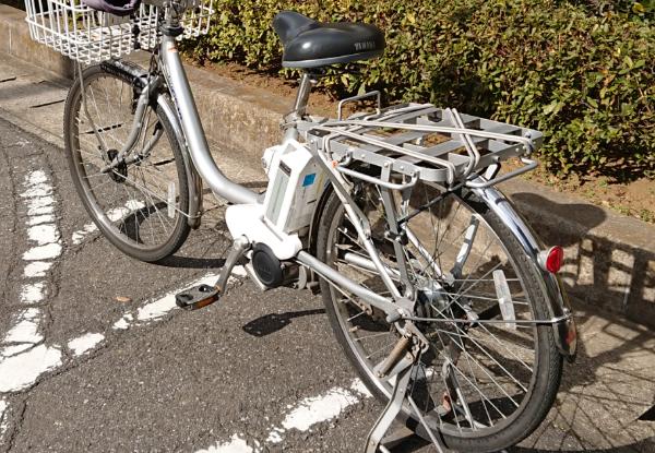 自転車で犬の散歩はNGです